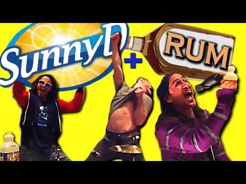 Sunny D and Rum
