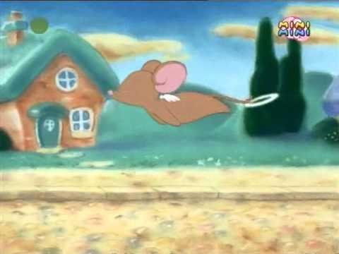 Mysz Aniołek - Wietrzny dzień
