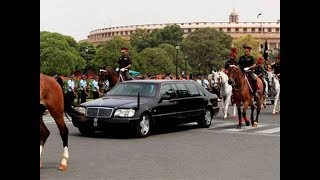President's limousine is the safest car in the world..