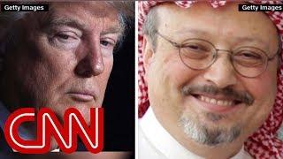 Ward: Trump is saying US doesn't care about Khashoggi murder