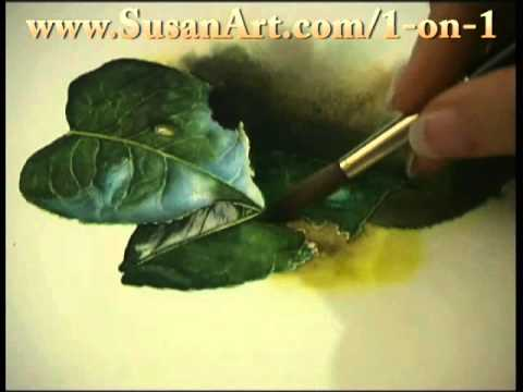 How To Watercolor - Watercolor Lessons with Susan Harrison-Tustain