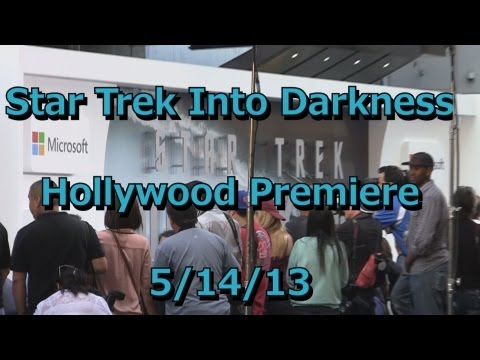 Star Trek Into Darkness Hollywood Movie Premiere  5/14/13