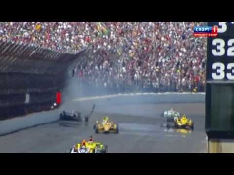 Scott Dixon Crash @ 2014 Indy 500