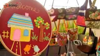 Video Kreasi Handmade Kain Perca, Sukses Dengan Pemasaran Online
