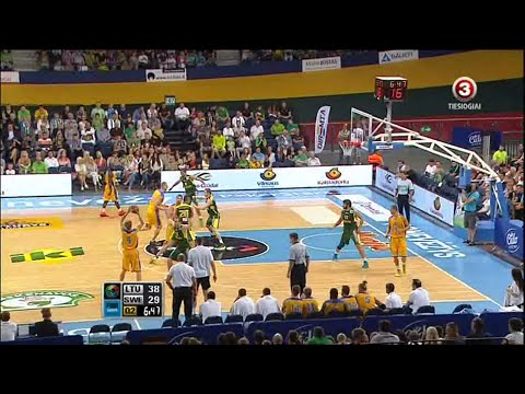 Eurobasket 2013 Friendly game Lithuania - Sweden 2013-08-12