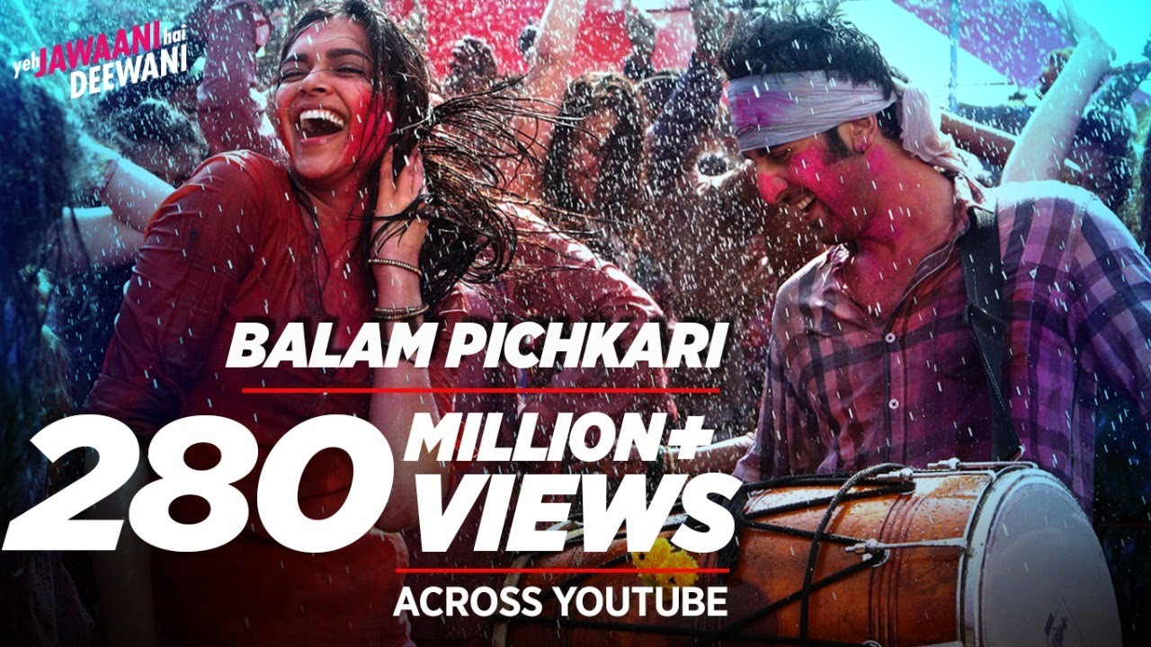 Balam Pichkari Full Song Video Yeh Jawaani Hai Deewani ...