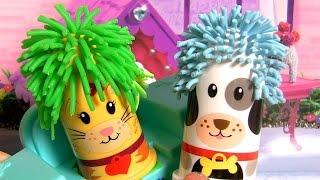 Play Doh Fuzzy Pet Salon Animal Activities Playset