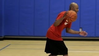 How To Do A Change-of-Pace Dribble Basketball Moves
