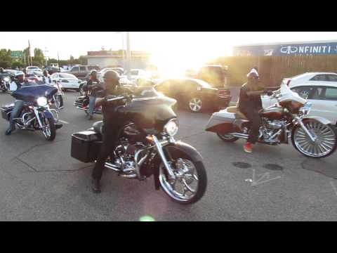 HOTCARSTV: Southern Heritage Classic Car Show - Bagger Roll In
