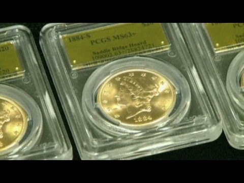 Eureka! Couple finds $10M in rare coins
