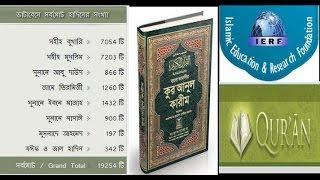 The Nobel Quran And Sahih Hadith In Bangla Read And