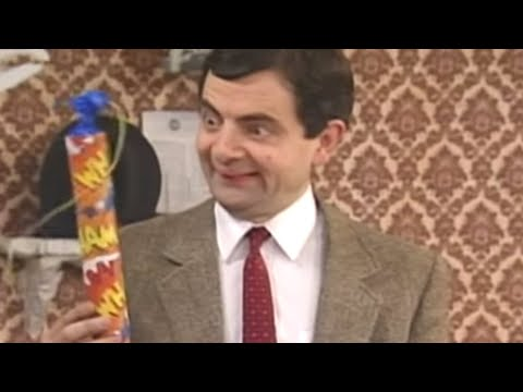 Mr. Bean - Explosive Paint