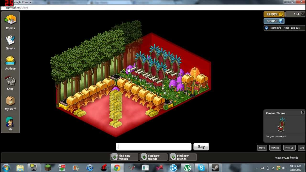 how to put habbo retro on maintance