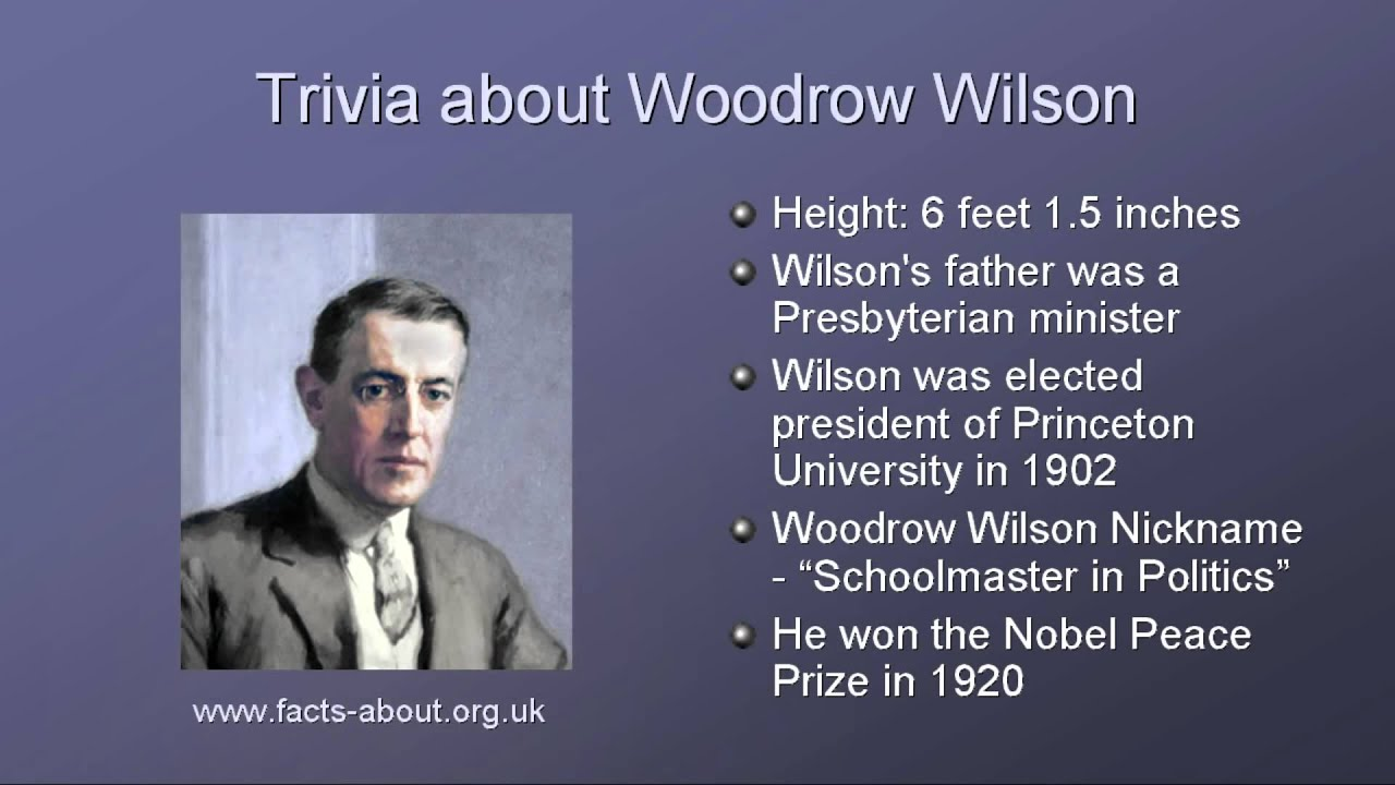 an introduction to the life of woodrow wilson Woodrow wilson, in full thomas woodrow wilson, (born december 28, 1856, staunton, virginia, us—died february 3, 1924, washington, dc), 28th president of the united states (1913–21), an american scholar and statesman best remembered for his legislative accomplishments and his high-minded idealism.