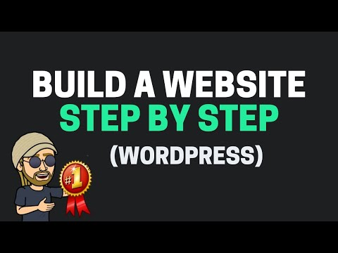 How To Build A Website with WordPress 2014 - EASY!