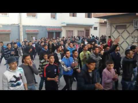 مسيرة حاشدة ببني بوعياش تضامنا مع بوكيدان و تنديدا باعتقال ناصر لاري