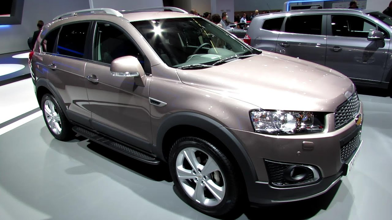 2014 chevrolet captiva ltz awd diesel exterior and interior. Cars Review. Best American Auto & Cars Review
