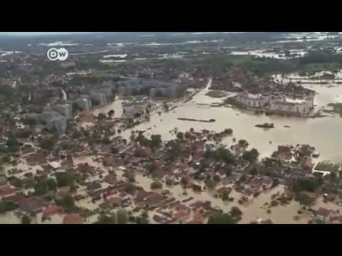 Balkan countries face flooding