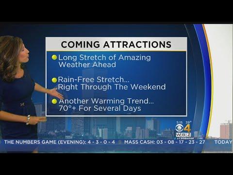WBZ Morning Forecast For Oct. 17