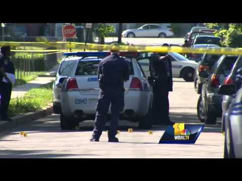 Md. cop kills suspect after witnessing gun battle