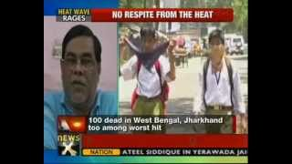 Heat wave across North India, death toll rises to 200 - NewsX