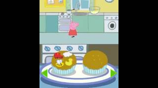 Peppa Pig Fun and Games Cupcakes Game