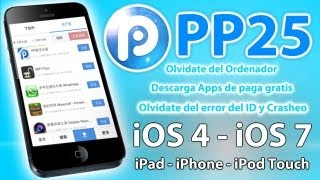 PP25 Descarga Apps Gratis Sin Jailbreak Con Tu IPad