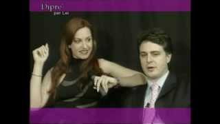 DIPRE' PER LEI: il critico d'arte prof. avv. Andrea Diprè incontra l'attrice Federica Zarri view on youtube.com tube online.
