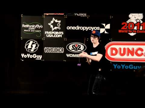 C3yoyodesign present: World Yoyo contest 2011 5A 4th - Tyler Severence