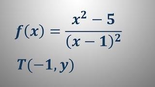 Enačba normale v točki – naloga 3