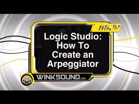 Logic Pro: How to Create an Arpeggiator | WinkSound