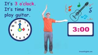 What Time Is It Song for Kids, DreamEnglish