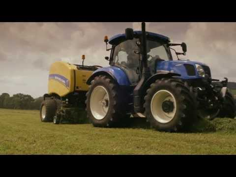 New Holland Roll-Belt(TM)  Baler