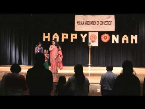 KACT Onam 2013 - National Anthem