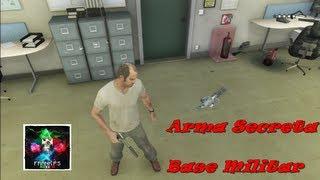 GTA V: Descubre La Arma Secreta Base Militar Como