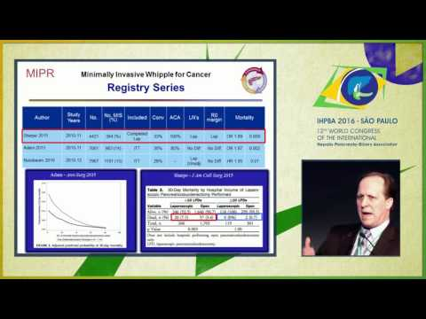 MIPR Conference: Cancer outcomes for minimally invasive whipple - Michael Kendrick