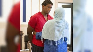 Mom comes face-to-face with her son's killer in court