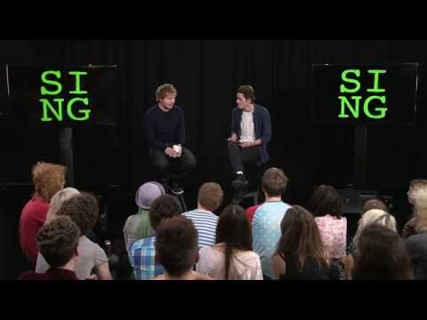 Ed Sheeran - 'Sing' Playback & YouTuber Q&A