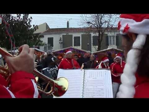 La Banda' loups de Bois plage en ré Marché de Noël à Courçon 4