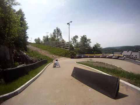 Tremblant Luge Track Raw Run with Joey and Jordan