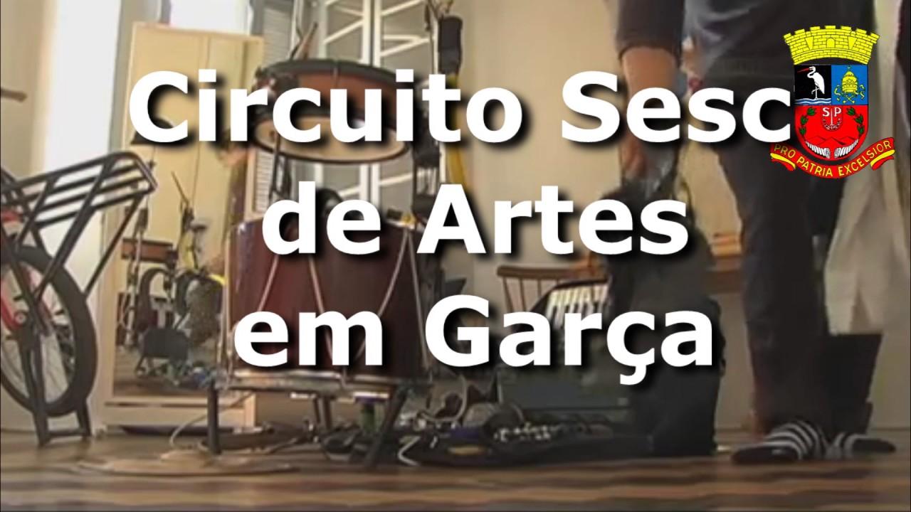 Circuito Sesc de Artes em Garça
