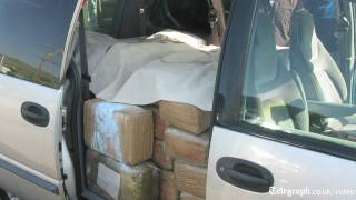 How Marijuana Is Smuggled Across The Mexican Border