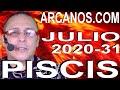 Video Horóscopo Semanal PISCIS  del 26 Julio al 1 Agosto 2020 (Semana 2020-31) (Lectura del Tarot)