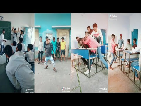 College & School Girl's and Boys Tik Tok Video |  Tik Tok Funny Video School & College Students(p-6)