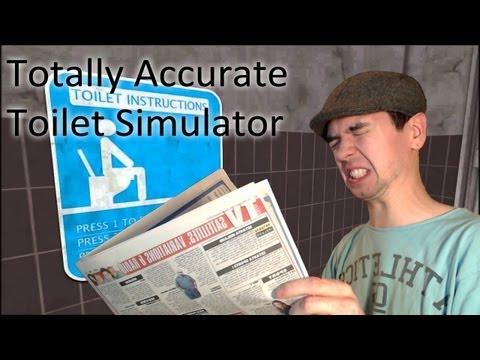 Totally Accurate Toilet Simulator 2013 | SITTIN ON THA TOILET