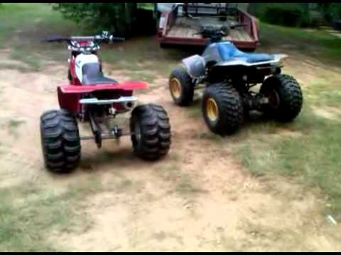 Suzuki LT230S Quad and Honda 200x ATC 3wheeler Walk Around
