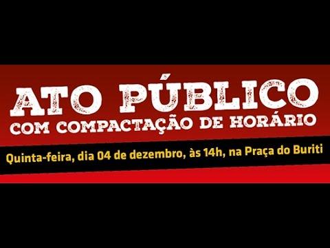 Sinpro convoca categoria para Ato Público dia 4 de dezembro