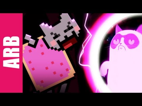 Nyan Cat vs. Grumpy Cat - ANIMEME RAP BATTLES, SUBSCRIBE TO ANIMEME! http://bit.ly/14KNWD9 DOWNLOAD THIS SONG: http://bit.ly/16KBN2O BUY OUR LIMITED EDITION SHIRTS! http://bit.ly/BuyT-Shirts _____ ANIMEME...