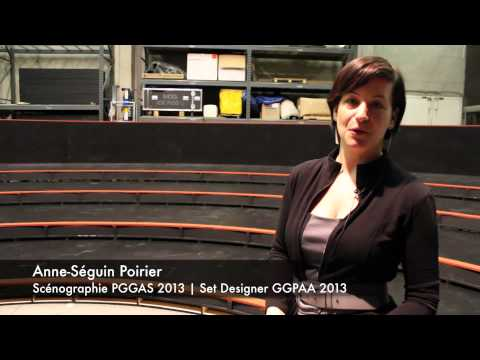 Entrevue avec Anne-Séguin Poirier | A new set for the 2013 GGPAA Gala
