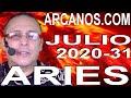 Video Horóscopo Semanal ARIES  del 26 Julio al 1 Agosto 2020 (Semana 2020-31) (Lectura del Tarot)